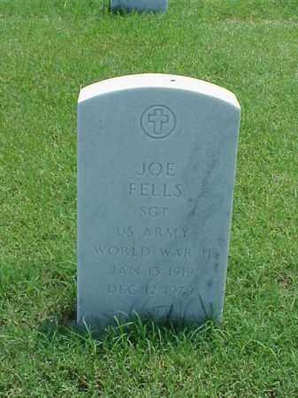 FELLS (VETERAN WWII), JOE - Pulaski County, Arkansas | JOE FELLS (VETERAN WWII) - Arkansas Gravestone Photos