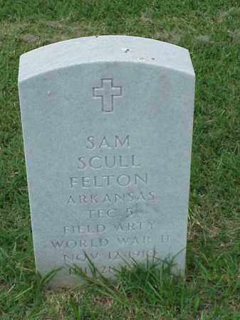 FELTON (VETERAN WWII), SAM SCULL - Pulaski County, Arkansas | SAM SCULL FELTON (VETERAN WWII) - Arkansas Gravestone Photos