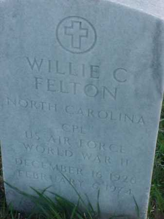 FELTON (VETERAN WWII), WILLIE C - Pulaski County, Arkansas | WILLIE C FELTON (VETERAN WWII) - Arkansas Gravestone Photos