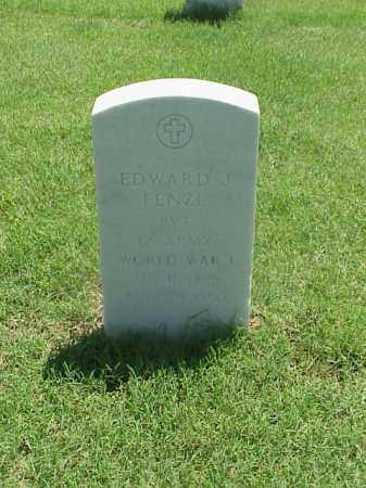 FENZL (VETERAN WWI), EDWARD J - Pulaski County, Arkansas | EDWARD J FENZL (VETERAN WWI) - Arkansas Gravestone Photos