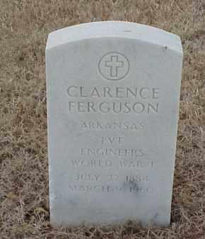 FERGUSON  (VETERAN WWI), CLARENCE - Pulaski County, Arkansas | CLARENCE FERGUSON  (VETERAN WWI) - Arkansas Gravestone Photos