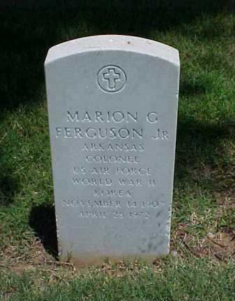FERGUSON, JR (VETERAN 2 WARS), MARION G - Pulaski County, Arkansas | MARION G FERGUSON, JR (VETERAN 2 WARS) - Arkansas Gravestone Photos