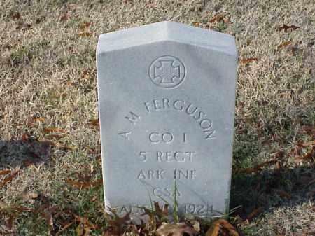 FERGUSON (VETERAN CSA), A M - Pulaski County, Arkansas | A M FERGUSON (VETERAN CSA) - Arkansas Gravestone Photos