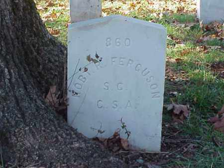 FERGUSON (VETERAN CSA), ROBERT R - Pulaski County, Arkansas | ROBERT R FERGUSON (VETERAN CSA) - Arkansas Gravestone Photos