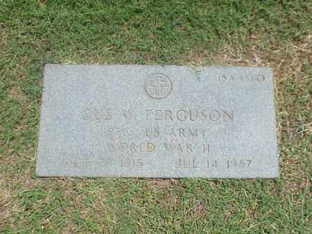 FERGUSON (VETERAN WWII), GUS W - Pulaski County, Arkansas | GUS W FERGUSON (VETERAN WWII) - Arkansas Gravestone Photos