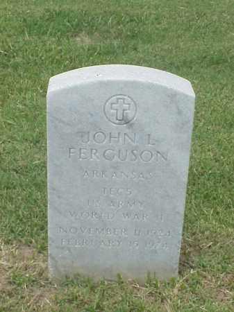FERGUSON (VETERAN WWII), JOHN L - Pulaski County, Arkansas | JOHN L FERGUSON (VETERAN WWII) - Arkansas Gravestone Photos