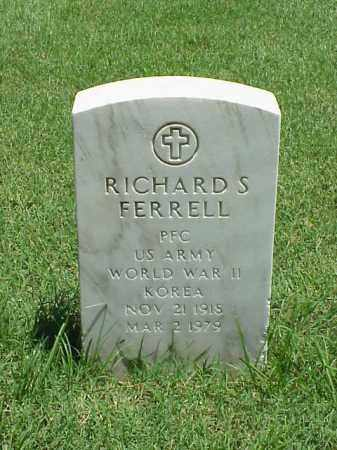 FERRELL (VETERAN 2 WARS), RICHARD S - Pulaski County, Arkansas | RICHARD S FERRELL (VETERAN 2 WARS) - Arkansas Gravestone Photos