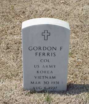 FERRIS (VETERAN 2 WARS), GORDON F - Pulaski County, Arkansas | GORDON F FERRIS (VETERAN 2 WARS) - Arkansas Gravestone Photos