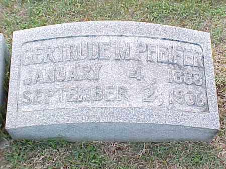 PFEIFER, GERTRUDE M - Pulaski County, Arkansas | GERTRUDE M PFEIFER - Arkansas Gravestone Photos