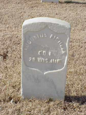 FICHLER (VETERAN UNION), AUGUSTUS - Pulaski County, Arkansas | AUGUSTUS FICHLER (VETERAN UNION) - Arkansas Gravestone Photos