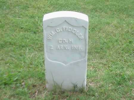 FIDDLER (VETERAN UNION), WILLIAM C - Pulaski County, Arkansas | WILLIAM C FIDDLER (VETERAN UNION) - Arkansas Gravestone Photos