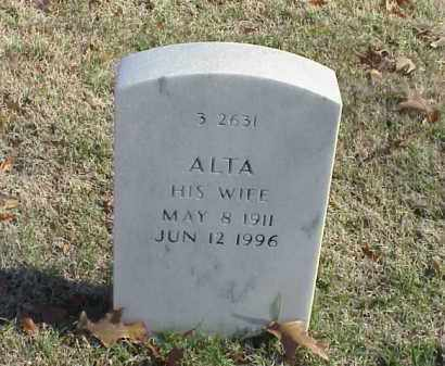 FIEDLER, ALTA - Pulaski County, Arkansas | ALTA FIEDLER - Arkansas Gravestone Photos