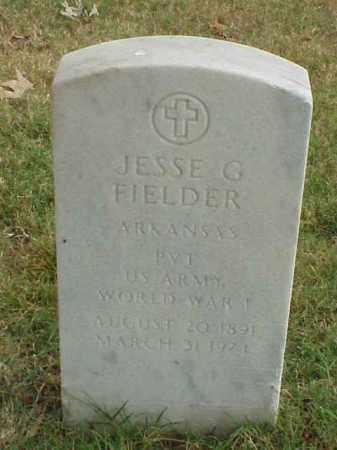 FIEDLER (VETERAN WWI), JESSE G - Pulaski County, Arkansas | JESSE G FIEDLER (VETERAN WWI) - Arkansas Gravestone Photos