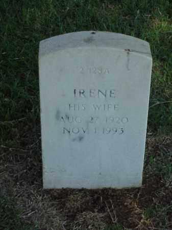 FIELD, IRENE - Pulaski County, Arkansas | IRENE FIELD - Arkansas Gravestone Photos