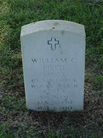 FIELD (VETERAN 3 WARS), WILLIAM C - Pulaski County, Arkansas | WILLIAM C FIELD (VETERAN 3 WARS) - Arkansas Gravestone Photos