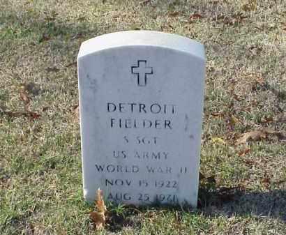 FIELDER (VETERAN WWII), DETROIT - Pulaski County, Arkansas | DETROIT FIELDER (VETERAN WWII) - Arkansas Gravestone Photos