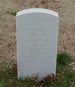 FIELDS  (VETERAN WWI), MIKE - Pulaski County, Arkansas | MIKE FIELDS  (VETERAN WWI) - Arkansas Gravestone Photos