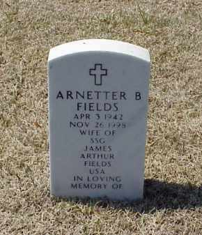 FIELDS, ARNETTER B - Pulaski County, Arkansas | ARNETTER B FIELDS - Arkansas Gravestone Photos