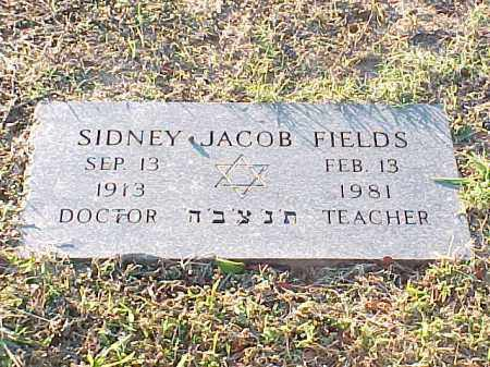 FIELDS, SIDNEY JACOB - Pulaski County, Arkansas | SIDNEY JACOB FIELDS - Arkansas Gravestone Photos