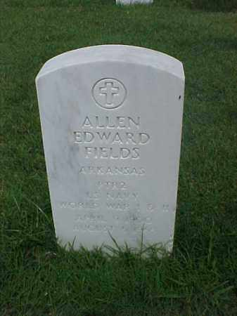 FIELDS (VETERAN 2 WARS), ALLEN EDWARD - Pulaski County, Arkansas | ALLEN EDWARD FIELDS (VETERAN 2 WARS) - Arkansas Gravestone Photos