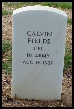 FIELDS (VETERAN), CALVIN - Pulaski County, Arkansas | CALVIN FIELDS (VETERAN) - Arkansas Gravestone Photos