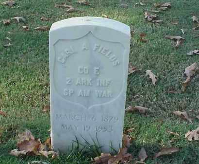 FIELDS (VETERAN SAW), CARL A - Pulaski County, Arkansas | CARL A FIELDS (VETERAN SAW) - Arkansas Gravestone Photos