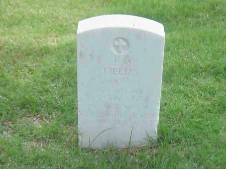 FIELDS (VETERAN WWII), J M - Pulaski County, Arkansas | J M FIELDS (VETERAN WWII) - Arkansas Gravestone Photos
