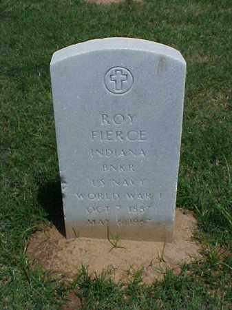 FIERCE (VETERAN WWI), ROY - Pulaski County, Arkansas | ROY FIERCE (VETERAN WWI) - Arkansas Gravestone Photos