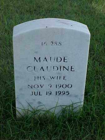 FIEST, MAUDE CLAUDINE - Pulaski County, Arkansas | MAUDE CLAUDINE FIEST - Arkansas Gravestone Photos