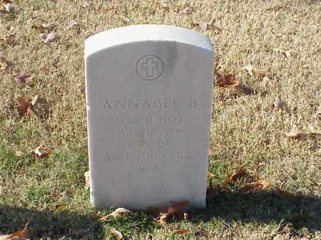 FILL, ANNABEL B - Pulaski County, Arkansas | ANNABEL B FILL - Arkansas Gravestone Photos