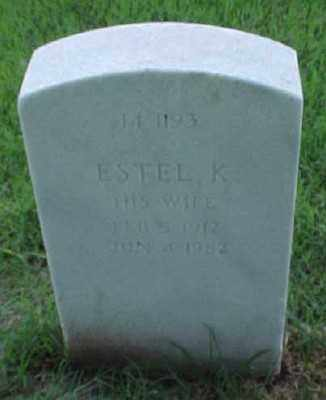 FINCH, ESTEL K. - Pulaski County, Arkansas | ESTEL K. FINCH - Arkansas Gravestone Photos