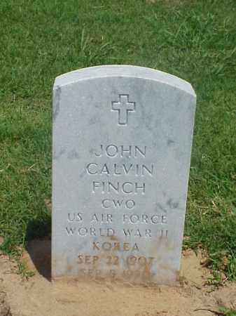 FINCH (VETERAN 2 WARS), JOHN CALVIN - Pulaski County, Arkansas | JOHN CALVIN FINCH (VETERAN 2 WARS) - Arkansas Gravestone Photos