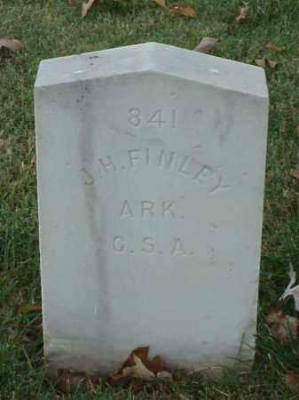 FINLEY (VETERAN CSA), J H - Pulaski County, Arkansas | J H FINLEY (VETERAN CSA) - Arkansas Gravestone Photos