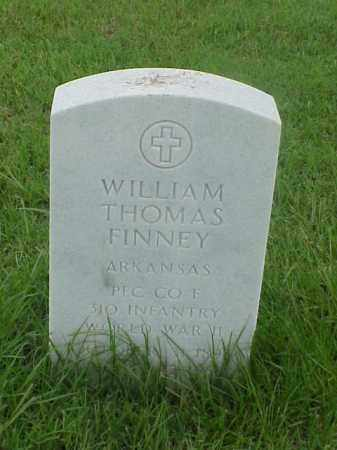 FINNEY (VETERAN WWII), WILLIAM THOMAS - Pulaski County, Arkansas | WILLIAM THOMAS FINNEY (VETERAN WWII) - Arkansas Gravestone Photos