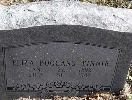 BOGGANS FINNIE, ELIZA NEW - Pulaski County, Arkansas | ELIZA NEW BOGGANS FINNIE - Arkansas Gravestone Photos