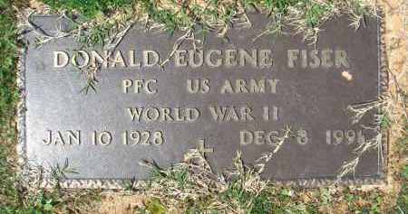 FISER (VETERAN WWII), DONALD EUGENE - Pulaski County, Arkansas | DONALD EUGENE FISER (VETERAN WWII) - Arkansas Gravestone Photos