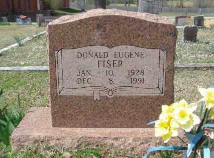 FISER, DONALD EUGENE - Pulaski County, Arkansas | DONALD EUGENE FISER - Arkansas Gravestone Photos