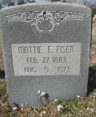 KING FISER, MATTIE ELCON - Pulaski County, Arkansas | MATTIE ELCON KING FISER - Arkansas Gravestone Photos