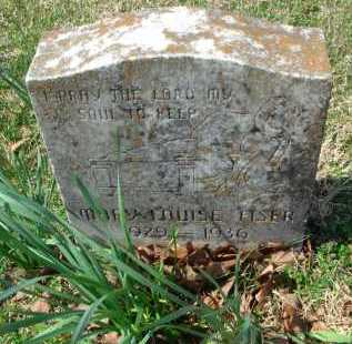 FISER, MARY LOUISE - Pulaski County, Arkansas | MARY LOUISE FISER - Arkansas Gravestone Photos