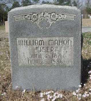 FISER, WILLIAM MAHON - Pulaski County, Arkansas | WILLIAM MAHON FISER - Arkansas Gravestone Photos