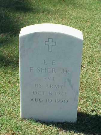 FISHER, JR (VETERAN), L E - Pulaski County, Arkansas | L E FISHER, JR (VETERAN) - Arkansas Gravestone Photos