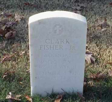 FISHER, JR (VETERAN WWII), CLARK - Pulaski County, Arkansas | CLARK FISHER, JR (VETERAN WWII) - Arkansas Gravestone Photos