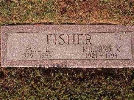 FISHER, PAUL E - Pulaski County, Arkansas | PAUL E FISHER - Arkansas Gravestone Photos