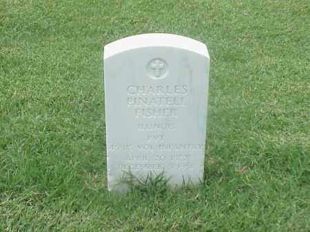 FISHER (VETERAN SAW), CHARLES PINATELL - Pulaski County, Arkansas | CHARLES PINATELL FISHER (VETERAN SAW) - Arkansas Gravestone Photos