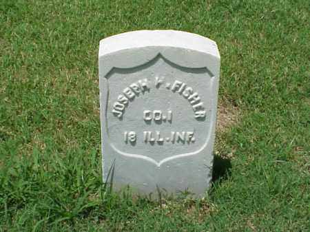 FISHER (VETERAN UNION), JOSEPH - Pulaski County, Arkansas | JOSEPH FISHER (VETERAN UNION) - Arkansas Gravestone Photos