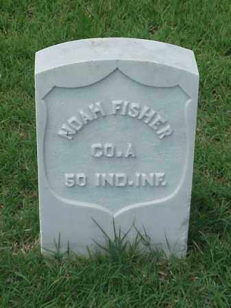 FISHER (VETERAN UNION), NOAH - Pulaski County, Arkansas | NOAH FISHER (VETERAN UNION) - Arkansas Gravestone Photos
