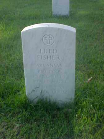 FISHER (VETERAN WWI), FRED - Pulaski County, Arkansas | FRED FISHER (VETERAN WWI) - Arkansas Gravestone Photos