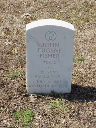 FISHER (VETERAN WWI), JOHN EUGENE - Pulaski County, Arkansas | JOHN EUGENE FISHER (VETERAN WWI) - Arkansas Gravestone Photos