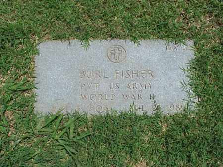 FISHER (VETERAN WWII), BURL - Pulaski County, Arkansas | BURL FISHER (VETERAN WWII) - Arkansas Gravestone Photos