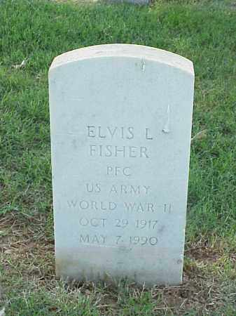 FISHER (VETERAN WWII), ELVIS L - Pulaski County, Arkansas | ELVIS L FISHER (VETERAN WWII) - Arkansas Gravestone Photos
